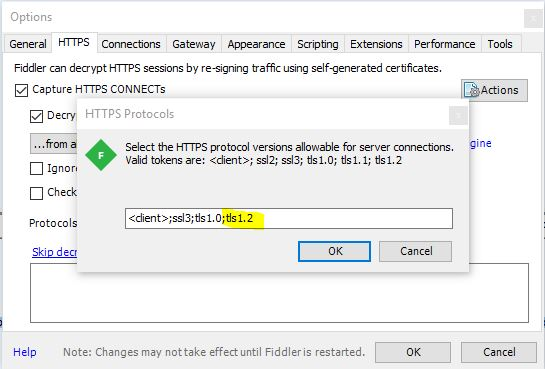 System Security SecurityException Failed to negotiate HTTPS